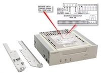 HP 4/8GB DAT Drive - DAT - 2:1 - Grau - 4 GB - 8 GB