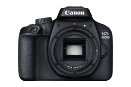 "Canon EOS 4000D Kit - Spiegelreflexkamera - 18 MP - Display: 6,86 cm/2,7"" TFT - Schwarz"