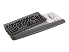 3M Adjustable Gel Wrist Rest for Keyboard and Mouse WR422LE