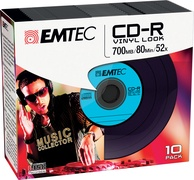 EMTEC CD-R - 700MB - 10pcs - 52x