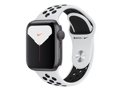 Apple Watch Nike Series 5 (GPS) - 40 mm - Aluminium, Silber