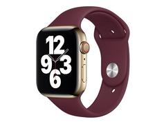 Apple 44mm Sport Band - Uhrarmband für Smartwatch - Normalgröße - Pflaume - Demo - für Watch (42 mm, 44 mm)