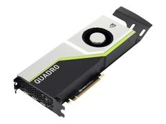 Lenovo NVIDIA Quadro RTX 8000 - Grafikkarten - Quadro RTX 8000 - 48 GB GDDR6 - PCIe 3.0 x16 - 4 x DisplayPort, USB-C - für ThinkStation P520 30BE (900 Watt)