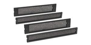 APC Dust Filter Pack - Systemfilter-Kit - Schwarz