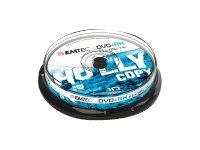 EMTEC 10 x DVD+RW - 4.7 GB (120 Min.) 1x - 4x