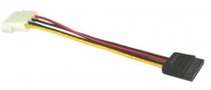 Exsys EX-K41915 - 0,4 m - Floppy (4-pin) - SATA 15-pin - Männlich/Männlich - Gerade - Gerade