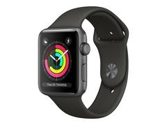 Apple Watch Series 3 (GPS) - 42 mm - Weltraum grau Aluminium