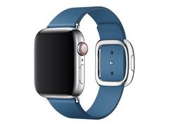Apple 40mm Modern Buckle - Uhrarmband für Smartwatch - Medium - Cape Cod Blue - für Watch (38 mm, 40 mm)