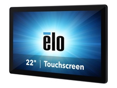 """Elo Touch Solutions Elo I-Series 2.0 - All-in-One (Komplettlösung) - 1 x Core i3 8100T / 3.1 GHz - RAM 8 GB - SSD 128 GB - UHD Graphics 630 - GigE, Bluetooth 5.0 - WLAN: 802.11a/b/g/n/ac, Bluetooth 5.0 - kein Betriebssystem - Monitor: LED 54.6 cm (21.5"""")"""