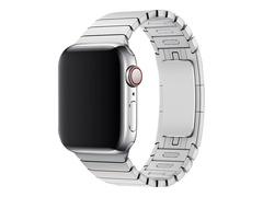 Apple 38mm Link Bracelet - Uhrarmband für Smartwatch - 135 - 195 mm - Silber - für Watch (38 mm, 40 mm)