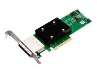 Brocade Broadcom HBA 9500-16e Tri-Mode - Speicher-Controller - 16 Sender/Kanal - SATA 6Gb/s / SAS 12Gb/s / PCIe 4.0 (NVMe)