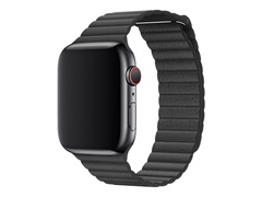Apple 40mm Hermès Double Tour - Uhrarmband - Large - Schwarz - für Watch (42 mm, 44 mm)