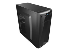 AEROCOOL ADVANCED TECHNOLOGIES AeroCool PGS C Series CS-1101 - Black Edition - Midi Tower - ATX - ohne Netzteil (ATX)
