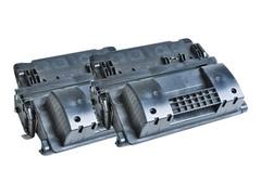 AgfaPhoto 2er-Pack - Schwarz - Tonerpatrone (Alternative zu: HP 90X, HP CE390X, HP CE390XD)