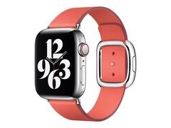Apple 40mm Modern Buckle - Uhrarmband für Smartwatch - Größe L - Pink Citrus - für Watch (38 mm, 40 mm, 41 mm)