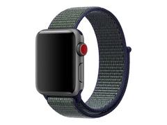 Apple 38mm Nike Sport Loop - Uhrarmband - 130-190 mm - Midnight Fog - für Watch (38 mm)
