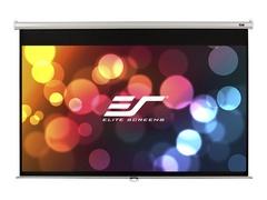 """Elite Screens Manual Series M150XWH2 - Leinwand - Deckenmontage möglich, geeignet für Wandmontage - 381 cm (150"""")"""