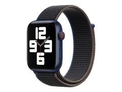 Apple 44mm Sport Loop - Uhrarmband für Smartwatch - Normalgröße - holzkohlefarben - Demo - für Watch (42 mm, 44 mm)