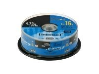 Intenso 25 x DVD+R - 4.7 GB 16x - Spindel