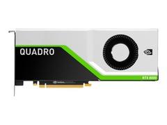 HP NVIDIA Quadro RTX 8000 - Grafikkarten - Quadro RTX 8000 - 48 GB GDDR6 - PCIe 3.0 x16 - 4 x DisplayPort, USB-C - für Workstation Z4 G4 (1000 Watt, 750 Watt)