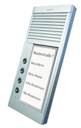 AGFEO DoorSpeak 4 - Verkabelt - IP33 - Silber - Wand - 115 mm - 235 mm
