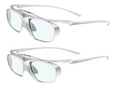 Acer E4w DLP - 3D-Brille - Active Shutter - weiß