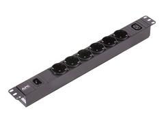APC Easy Basic Rack PDU EPDU1010B-SCH - Stromverteilungseinheit (Rack - einbaufähig)
