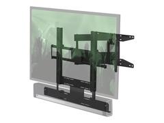 """Flexson FLXBCM651021 - Wandhalterung für LCD / Plasmabildschirm /Sound-Leiste - Schwarz - Bildschirmgröße: 101.6-165.1 cm (40""""-65"""")"""