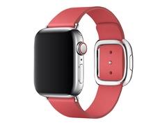 Apple 40mm Modern Buckle - Uhrarmband für Smartwatch - Large - Pfingstrosenrosa - für Watch (38 mm, 40 mm)