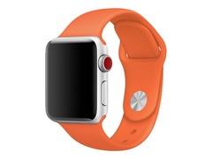 Apple 38mm Sport Band - Uhrarmband - 130-200 mm - scharfes Orange - für Watch (38 mm)