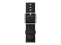 Apple 38mm Classic Buckle - Uhrarmband - 130 - 195 mm - Schwarz - für Watch (38 mm)