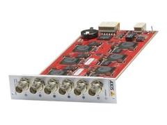 Axis Q7436 Video Encoder Blade - Video-Server - 6 Kanäle (Packung mit 10)