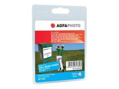 AgfaPhoto 21 ml - Farbe (Cyan, Magenta, Gelb) - wiederaufbereitet - Tintenpatrone (Alternative zu: HP 343, HP C8766EE)
