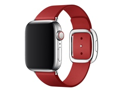 Apple 40mm Modern Buckle - (PRODUCT) RED Special Edition - Uhrarmband für Smartwatch - Large - Rubinrot - für Watch (38 mm, 40 mm)