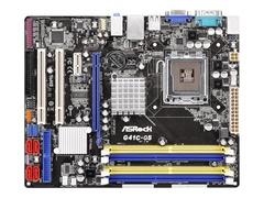ASRock G41C-GS - 2.0 - Motherboard - micro ATX - LGA775-Sockel - G41 - Gigabit LAN - Onboard-Grafik - HD Audio (6-Kanal)