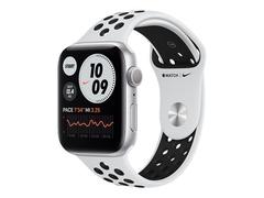 Apple Watch Nike Series 6 (GPS) - 44 mm - Aluminium, Silber