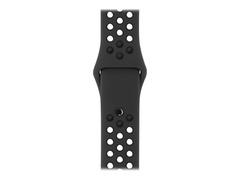 Apple 38mm Sport Band - Small/Medium & Medium/Large - Uhrarmband - 130 - 200 mm - anthrazit schwarz - für Watch (38 mm)