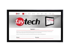 "faytech 32"" kapazitiver Touchscreen Monitor - 81,3 cm - 32"""
