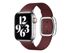 Apple 40mm Modern Buckle - Uhrarmband für Smartwatch - Größe L - Garnet - für Watch (38 mm, 40 mm, 41 mm)