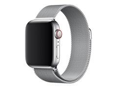Apple 40mm Milanese Loop - Uhrarmband für Smartwatch - 130 - 180 mm - Silber - für Watch (38 mm, 40 mm)