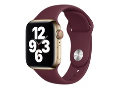 Apple Armband für Smartwatch - 40mm - Normalgröße - Pflaume - Demo - für Watch (38 mm, 40 mm)