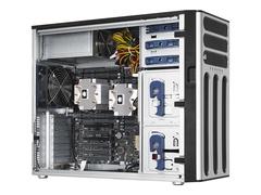"ASUS TS700-E8-PS4 - Server - Tower - 5U - zweiweg - RAM 0 MB - SATA - Hot-Swap 8.9 cm (3.5"")"