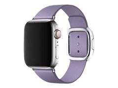 Apple 40mm Modern Buckle - Uhrarmband für Smartwatch - Medium - fliederfarben - für Watch (38 mm, 40 mm)