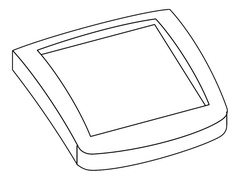 Lexmark Blende für Bedienerpaneel
