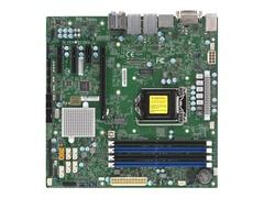 Supermicro X11SCQ - Motherboard - micro ATX - LGA1151 Socket - Q370 - USB 3.1 Gen 1 - 2 x Gigabit LAN - Onboard-Grafik (CPU erforderlich)