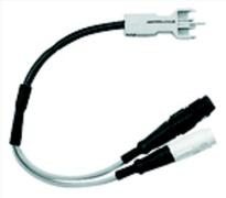 3M Test cord - Männlich/Weiblich - Weiß