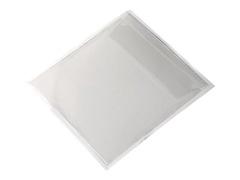 Durable POCKETFIX - CD/DVD-Hülle - Kapazität: 1 CD/DVD - durchsichtig (Packung mit 10)