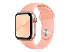 Apple 40mm Sport Band - Uhrarmband für Smartwatch - Normal - Grapefruit - für Watch (38 mm, 40 mm)