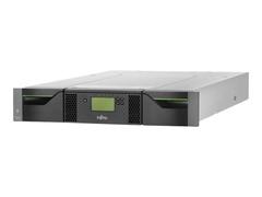 Fujitsu ETERNUS LT40 S2 - Bandbibliothek - 60 TB / 150 TB - Steckplätze: 24 - LTO Ultrium (2.5 GB / 6.25 TB)
