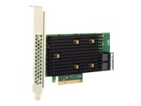 Brocade Broadcom HBA 9500-8i Tri-Mode - Speicher-Controller - 8 Sender/Kanal - SATA 6Gb/s / SAS 12Gb/s / PCIe 4.0 (NVMe)